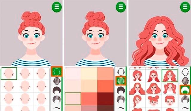 doodle face app online para criar avatar baixar iphone ios android