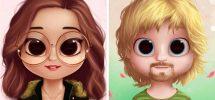 Dollify Aplicativo de Caricatura de Fotos Android iOs iPhone Baixar App Grátis
