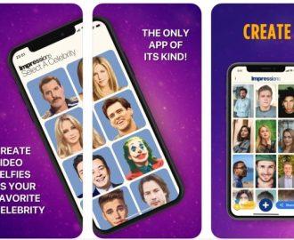 DeepFake App - Faça Vídeos com Rostos de Famosos - Impressions App Face Swap Videos